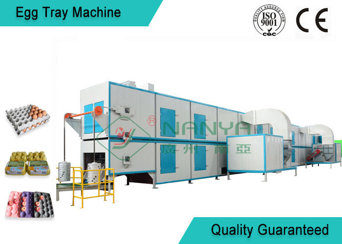 Biodegradable Recycled Paper Egg Tray Machine with 3000Pcs / H Capacity